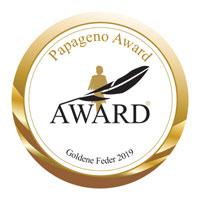 Papageno Award 2019 Goldene Feder Emblem
